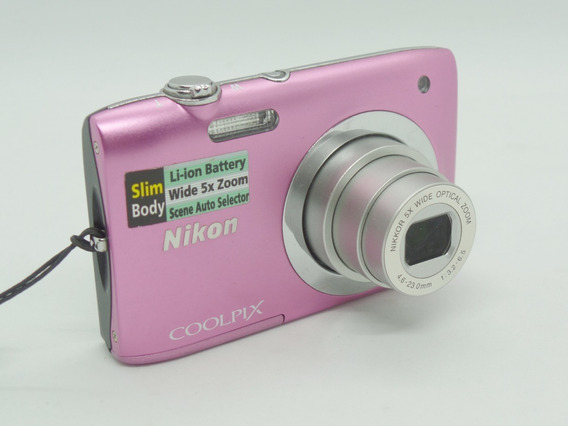 Camera Fotográfica Nikon S2600 Barata Oferta + Brindes