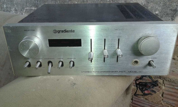 Pre Amplificador Gradiente Mod 80 Defeito