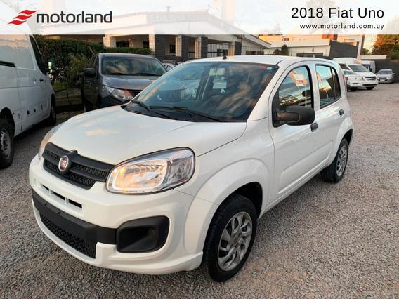 Fiat Uno Lx 2018. Permuto/financio