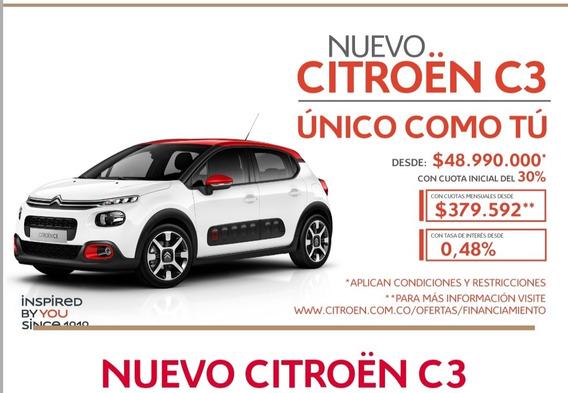 Nuevo C3 Citroen, Llevatelo Con Tasas Desde El 0.48%