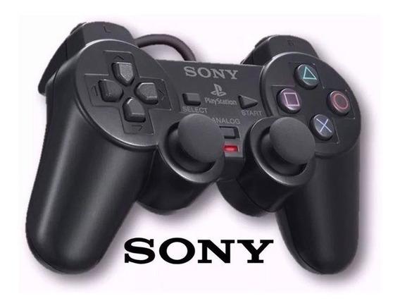 Controle Playstation Ps2 Dualshock 2 Sony Com Fio Original
