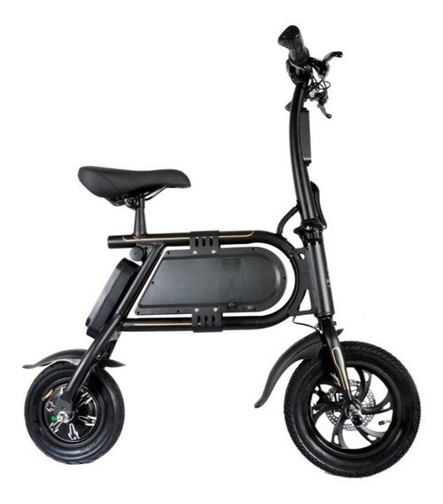 Bicicleta Eléctrica Miniblack Plegable 350w, 36v, 4400mah