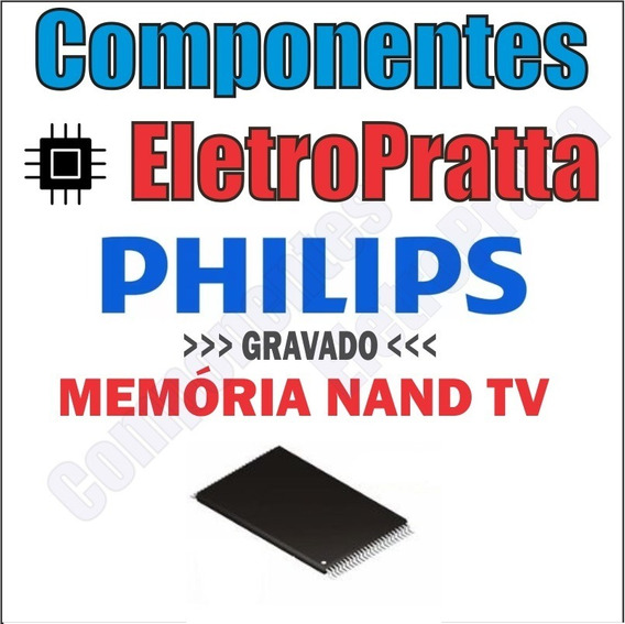 Memoria Nand Flash Tv Philips 43pfg5100 Gravada U402 Carta