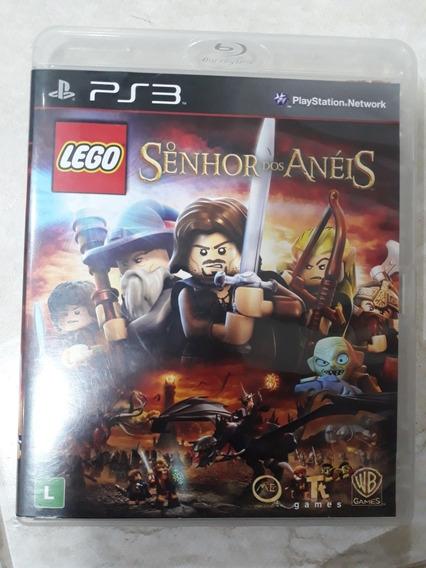 Lego Senhor Dos Anéis Playstation 3 Ps3 Mídia Fisica