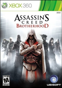 Jogo Assassins Creed Brotherhood Xbox 360 Em Dvd Original