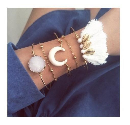 Pulseiras Femininas Bracelete Delicado Para Presentear #6