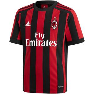Playera Jersey De Local Ac 17/18 Milan Niño adidas Az7066