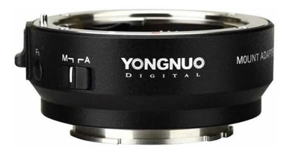 Adaptador Yongnuo Yn-ef-e Ll Canon Eos Sony Nex A7 A6500