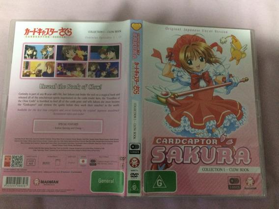 Card Captor Sakura Série Completa Dvd Box