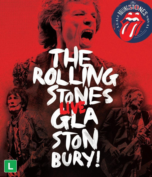 The Rolling Stones - Live Glastonbury! - Dvd