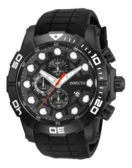 Invicta - Reloj 28273 Sea Hunter Stainless Steel Quartz Para