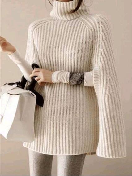 Suéter Capa De Mujer