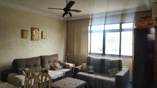 Apartamento À Venda, 102 M² Por R$ 375.000,00 - Boqueirão - Santos/sp - Ap5693