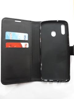 Funda Ejecutiva Libro Agenda Billetera Samsung Galaxy M20