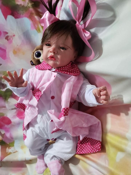 Bebê Reborn Linda Silicone Entrega Em Ate 24 Horas