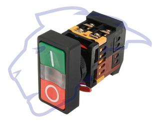 Boton On Off Con Luz Arranque Paro No Nc 22 Mm Push Arduino