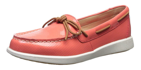 Zapato Barco Sperry Mujeres Oasis Canal Patente Perf