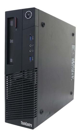 Desktop Lenovo Thinkcentre Core I3 4ª, 4gb Ddr3, Hd 500gb
