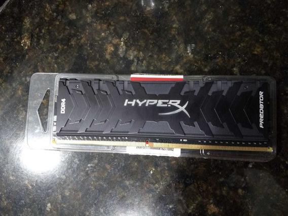 Memória Hyperx Predator 3600mhz 8gb Rgb Cl 17
