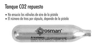 Tanque Co2 Crosman 12 Gramos