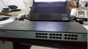 Switch 24 Portas Fast Ethernet 10/100 Intelbras Sf 2400 Qr