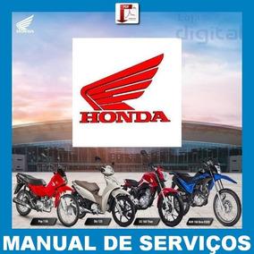 Manuais De Serviço P/ Motos Honda Pdf Digital Envio Imediato
