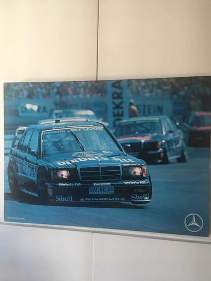 Quadro Decorativo Mercedes 190 E