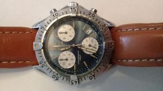 Relógio Breitling Pulso Couro 1884 A53035 Chronographe 100m