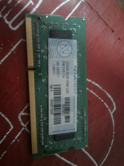 Memoria 2gb Ddr3 1333mhz Netbook Notebook