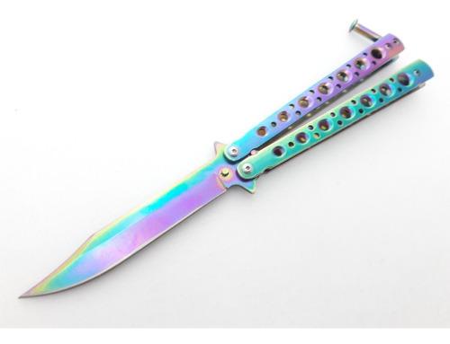 Canivete Butterfly  Modelo Fade Decrade Knives Treino Cs Go