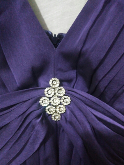 Vestido Roxo Social Para Festas, Casamentos, Formaturas