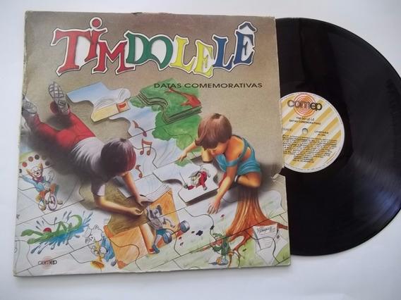 Lp Vinil - Timdolelê - Datas Comemorativas - Musica Infantil