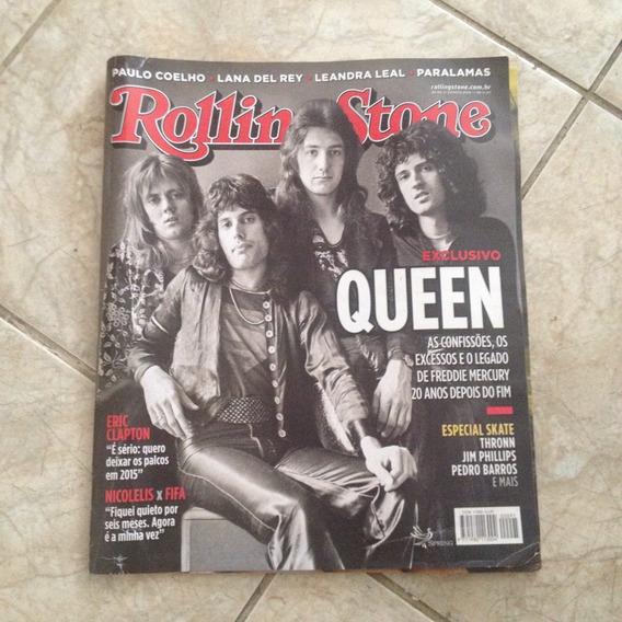 Revista Rolling Stone 95 Queen Eric Clapton Leandra Leal