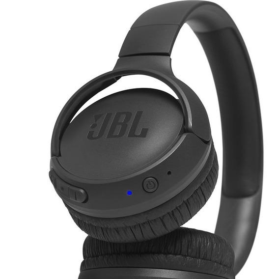 Fone De Ouvido Sem Fio Bluetooth Jbl Tune T500bt Preto