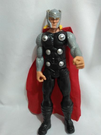 Boneco Thor Marvel Hasbro 28 Cm - Está Sem O Martelo $