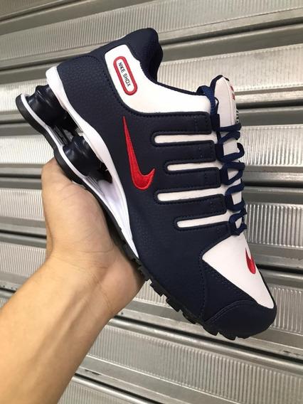 Tênis Nike Shox Masculino 4molas - Importado