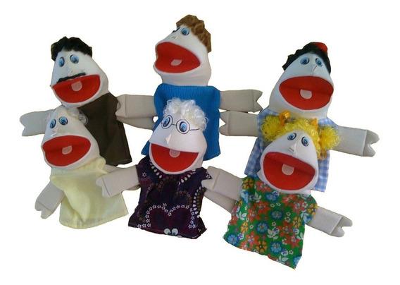 Fantochão Família Branca Espuma Revestida 6 Pçs Inmetro