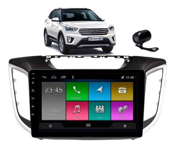 Kit Multimidia Hyundai Creta Android Aikon Tv