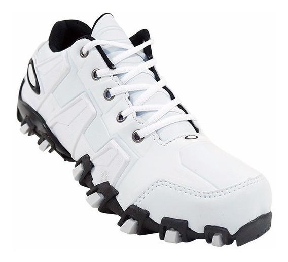Tênis Masculino Oakley Hardshell Preto E Azul, Branco...