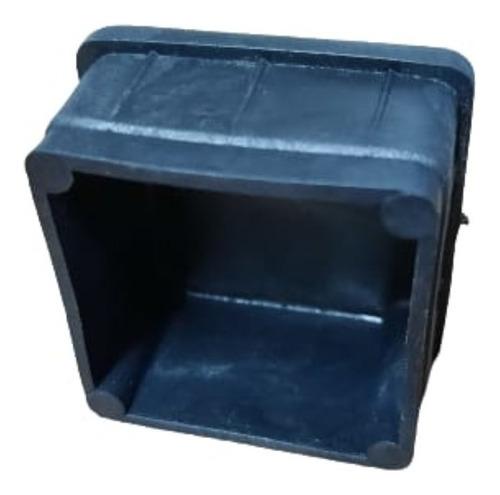 Imagen 1 de 4 de Regaton Plastico Interior Cuadrado 35x35 Capuchon X 100 Unid