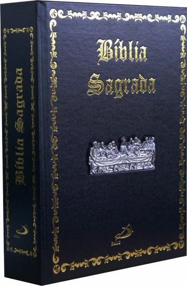 Bíblia Sagrada Edição Pastoral - Luxo - Santa Ceia Ed Paulus
