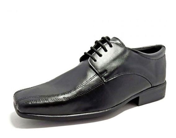 Sapato Social Masculino La Faire 9500 Preto