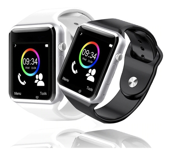 2 Relógio A1 Inteligente Smartwatch C /camera Whatsapp + Nf