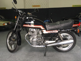 Honda Cb 400 1981 Cb 1993 Placa Preta