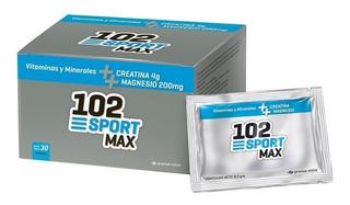 102 Sport Max Vitaminas Minerales Creatina Y Magnesio Sobres