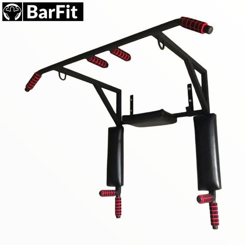 Imagen 1 de 8 de Barra Para Ejercicio Multifuncional  (dominadas, Fondos) Gym