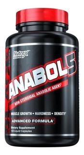 Anabol 5 Nutrex 120 Liquid Caps Importado E U A Original