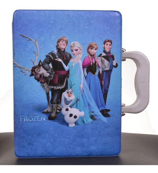 Frozen Album De Fotos C/ Estojo 15x21 120 Fotos Estojo Álbum