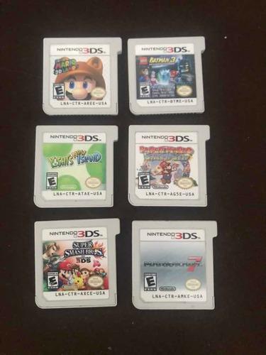 Nintendo Cartuchos 3ds
