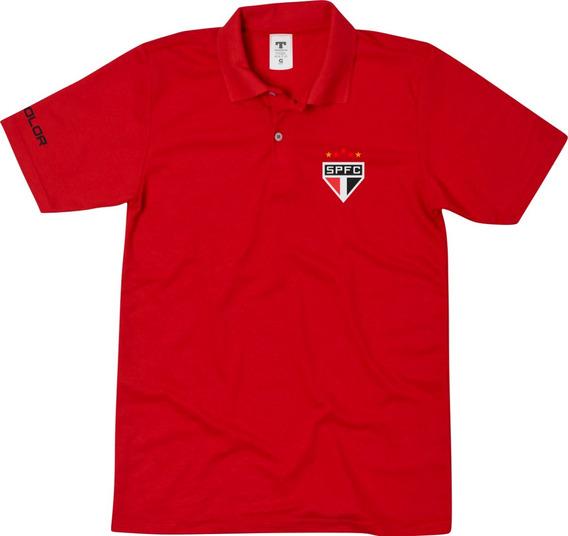 Camisa Camiseta Polo São Paulo Tricolor Paulista